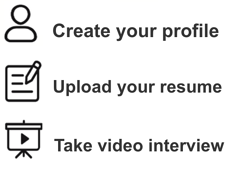 App Process Icons Text