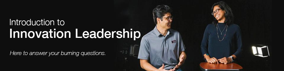 Introduction to Innovation Leadership Bootcamp webinar.